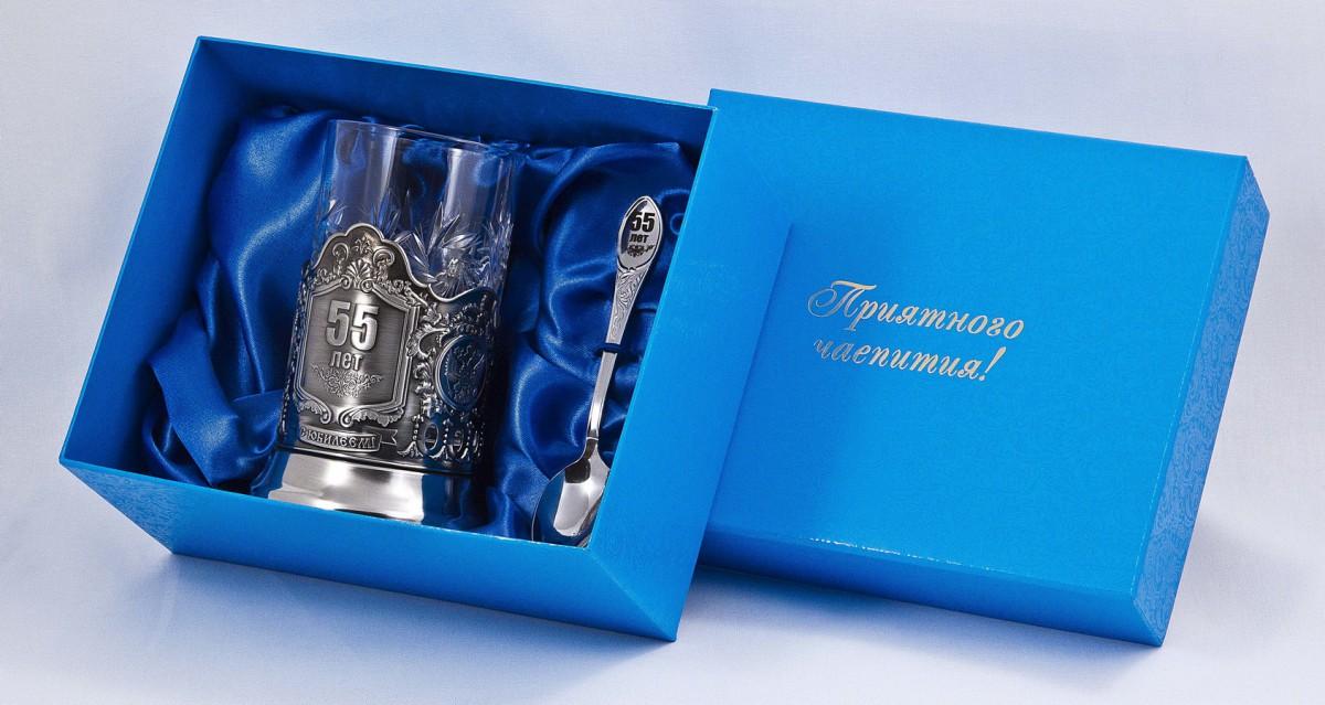 Чайный подарок на юбилей 91